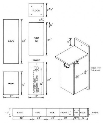 Bird House Plans - The Woodworking Plans Site - Over 1000 Free
